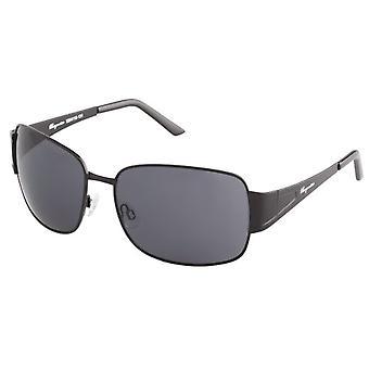 Burgmeister - نظارات شمسية SBM118-131 مستطيلة، رجالية، أسود
