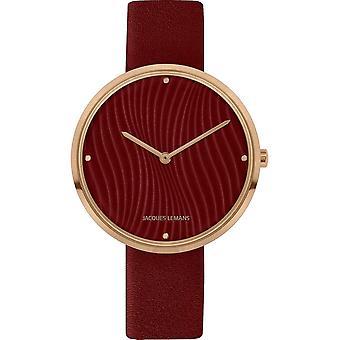 جاك ليمانز - مجموعة تصميم المرأة ساعة اليد 1-2093L