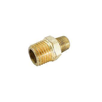 "BrassFittings 119C 0.25"" x 0.12"" Pipe Reducer"