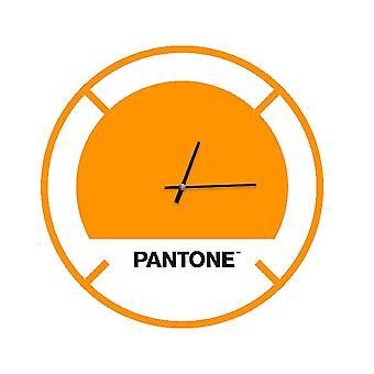 PANTONE Montre Drive En Couleur Orange, Blanc, Noir, En Métal L40xP0,15xA40 cm