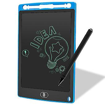 Blue 8.5 inch lcd drawing board doodle tablet educational learning handwriting pad cai805