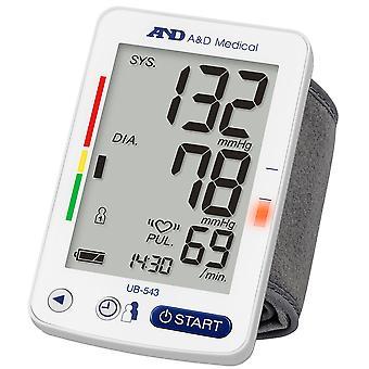 A&D Medical UB543  Wrist Blood Pressure Monitor