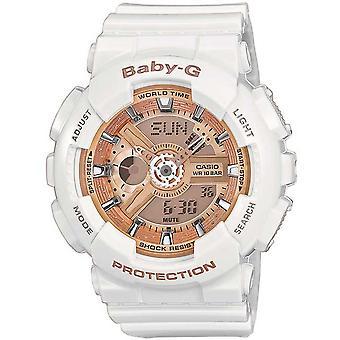 Casio BA110-7A1ER Baby-G Combination Wach con 5 allarmi (bianco)