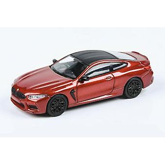 BMW M8 Coupe RHD Red 1:64 Scale Paragon 65211R