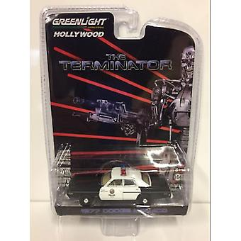 Terminatorn 1977 Dodge Monaco 1:64 Skala Greenlight 44790C