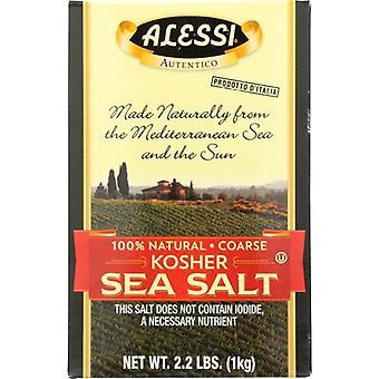 Alessi Sea Salt Kosher, Case of 6 X 1 KG