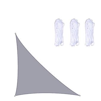 3x4x5m Waterproof Sun Shade Sail Triangle For Garden Patio Outdoor Awings Canopy Pool Awning Camping