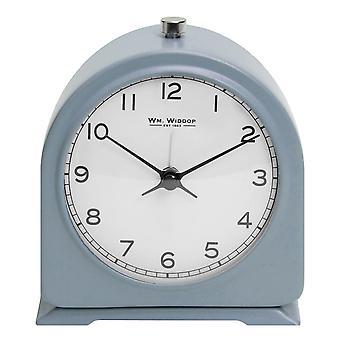 ויליאם WIDDOP מאט כחול מתכת צפצוף שעון מעורר