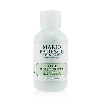 Mario Badescu Aloe Moisturizer SPF 15 - For Combination/ Oily/ Sensitive Skin Types (Exp. Date 10/2021) 59ml/2oz