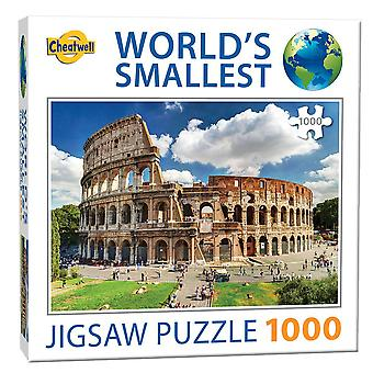 Puzzle più piccolo del mondo - Il Colosseo (1000 pezzi)