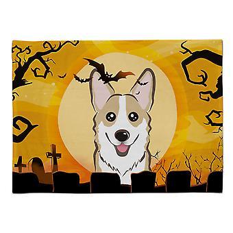 Caroline's Treasures BB1811PLMT Halloween Sable Corgi Stoff Tischset, Multicolor