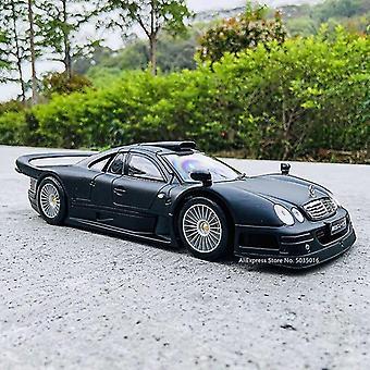 1:18 مرسيدس بنز Clk GTR يموت الصب سبيكة الرجعية سيارة نموذج سيارة كلاسيكية نموذج ديكور السيارة