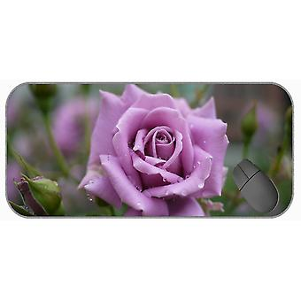 (600x300x3) Extra Large Gaming Mouse Pad,Nature Macro Rose Flower Mouse Pad Mat
