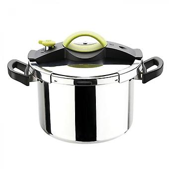 Sitram Sitrapro Pressure Cooker With Steam Basket - 8 L