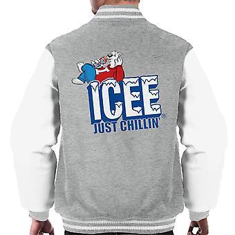 ICEE Just Chillin Men's Varsity Jacket