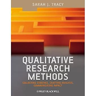 Qualitative Research Methods: Collecting Evidence, Crafting Analysis, Communicating Impact