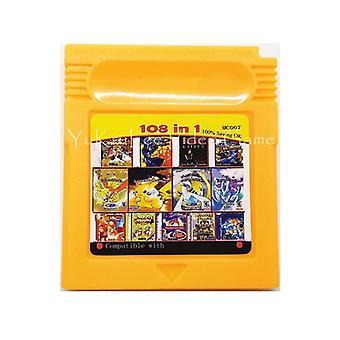 61/108 In 1 Scheda console di compilazione cartuccia videogiochi per Nintendo Gbc