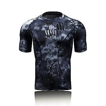 Military Tactical Shirt Short Sleeve Combat T-shirts Men