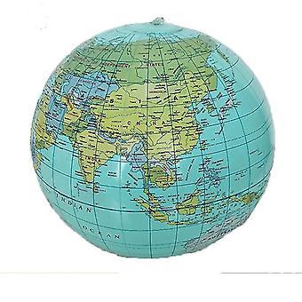 Teach Education Geography Inflatable World Globe - Map Balloon Beach Ball Toy
