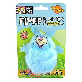 Fat Cat Fluff Bunnies Cat Toy - Assorted - Fluff Bunnies Cat Toy