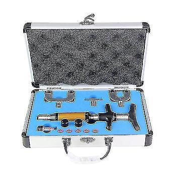 Massagers chiropractic adjustment tool  spine activator 6 levels 4 heads chiropractic adjusting gun