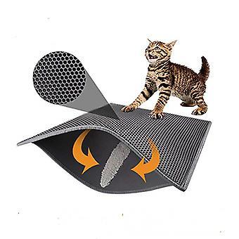 מחצלת המלטה חתול חלת דבש עמידה למים שכבה כפולה מתקפלת
