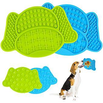 Hundeleckmatte, 2 Stück Hundeleckmatte