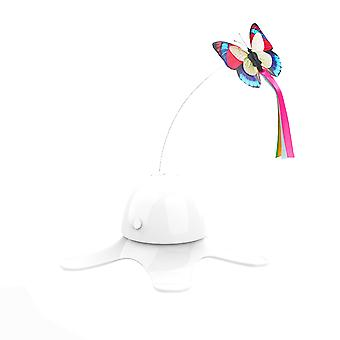 Homemiyn Interactive Cat Toys - Automatic Electric Rotating Butterfly Toy,funny Cat Teaser Toys For Indoor Cats