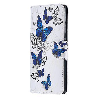 Samsung Galaxy Note 20 Ultra Fall Muster viele Schmetterling