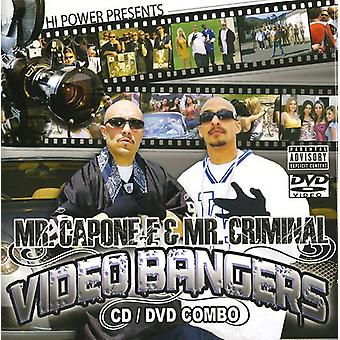 Hi Power Presents - Mr. Capone-E & Mr. Criminal Videos & B [CD] USA import