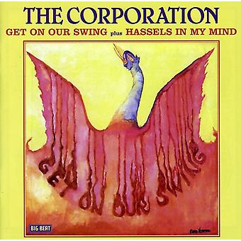 Corporation - Get on Your Swing/Hassles in My Mind [CD] USA import