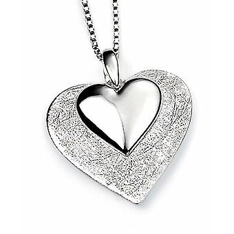 925 Silver Necklace Heart for Necklace