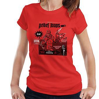 Rebel Loops Wolfenstein Cereal Women's T-Shirt