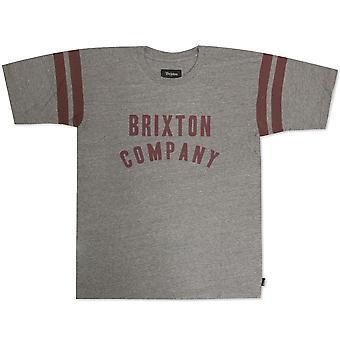 Brixton Barstow t-paita Heather Grey