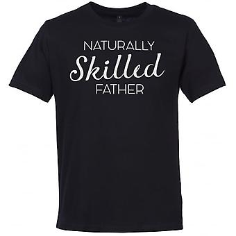 Spoilt Rotten Naturally Skilled Father Men's Crew Neck T-Shirt