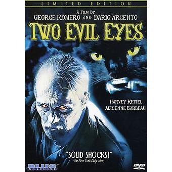 Two Evil Eyes [DVD] USA import