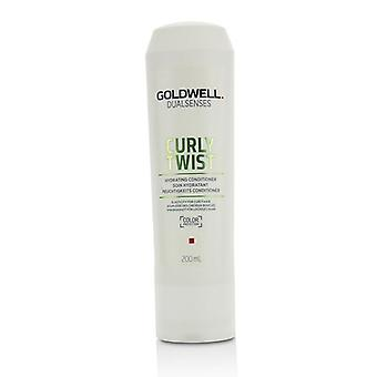 Goldwell Dual Senses lockigt twist Hydrating Conditioner (elasticitet för lockigt hår)-200ml/6.8 oz