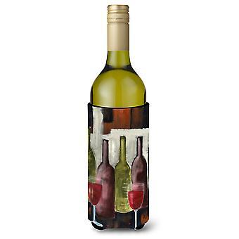 Rødvin av Petrina Sutton vinflaske drikke isolator Hugger