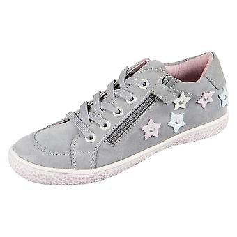Lurchi Tonja Grey Suede 331527125 universal all year kids shoes