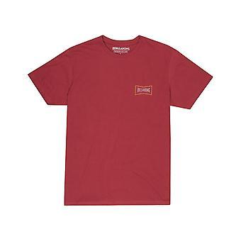 Billabong Craftman Short Sleeve T-Shirt in Brick