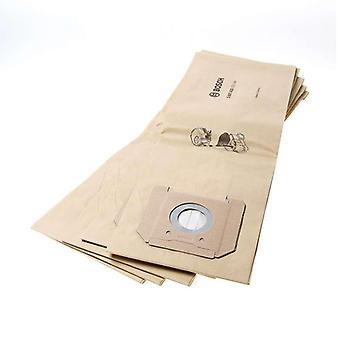 Bosch ersättare papperspåsar filter för GAS35
