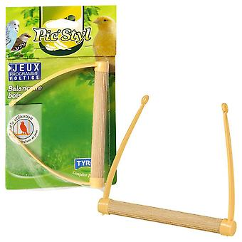 Tyrol Wooden Swing (Birds , Bird Cage Accessories , Perches & Posts)