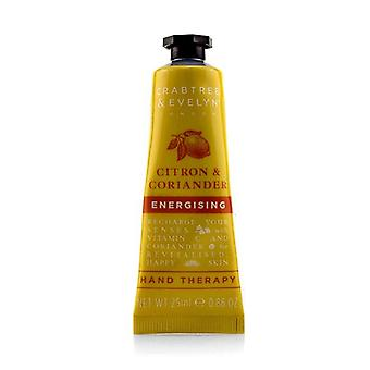 Crabtree & Evelyn Citron & Coriander Energising Hand Therapy - 25ml/0.86oz