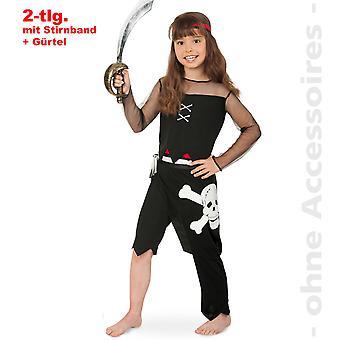 Costume enfant pirate Costume pirate costume Costume de Pirate KinderSeeräuberin