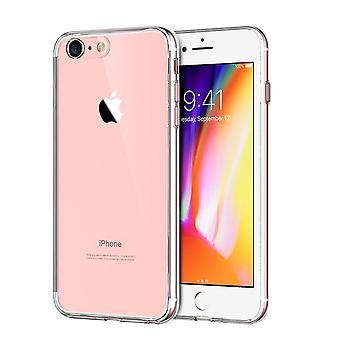 Apple iPhone 8 transparent fodral cover silikon