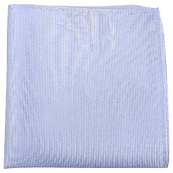 Knightsbridge Neckwear Ribbed Silk Pocket Square - Lilac