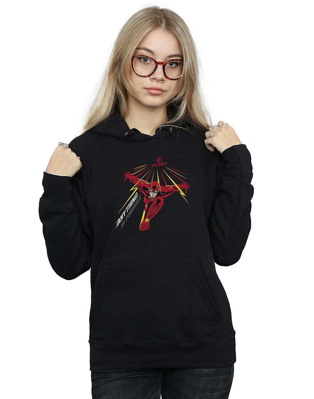 DC Comics Women's The Flash Anything Is Possible Hoodie