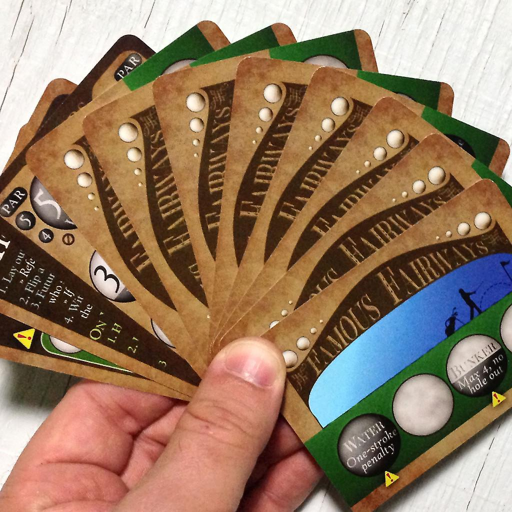Golf Card Game - Famous Fairways