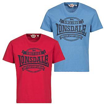 Lonsdale mens T-Shirt Necton