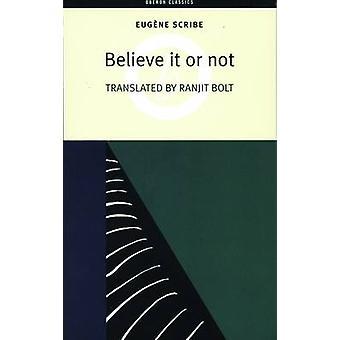 Tro det eller ej af Eugene Scribe - Ranjit Bolt - 9781840024951 bog
